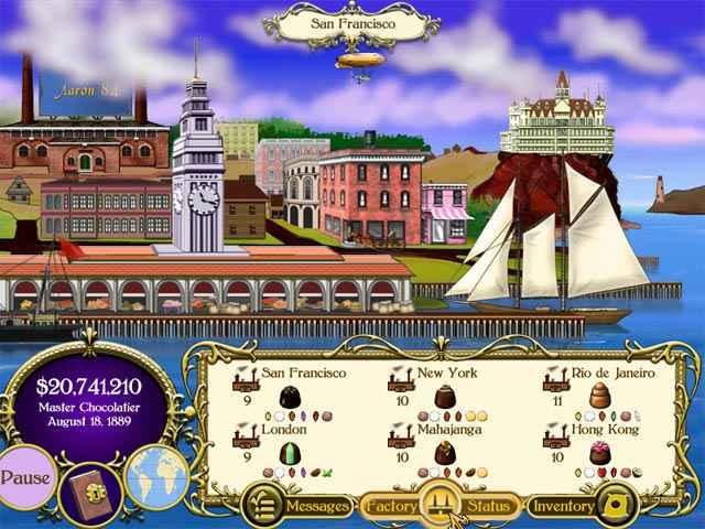 chocolatier screenshots 1