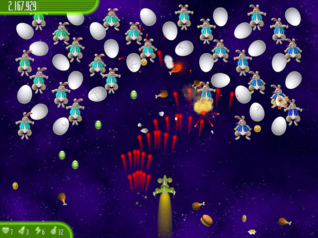 chicken invaders 4: ultimate omelette easter edition screenshots 3