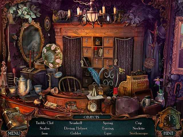 victorian mysteries: the yellow room screenshots 1