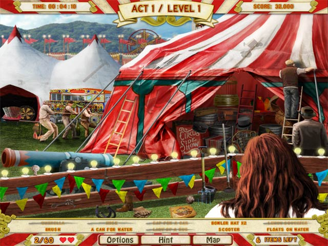 runaway with the circus screenshots 1