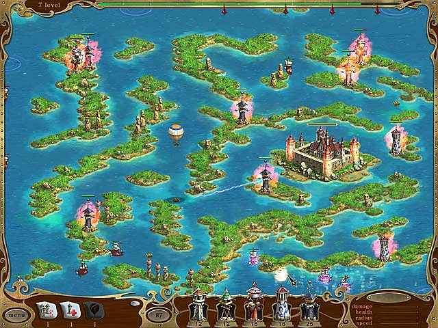 island defense screenshots 2