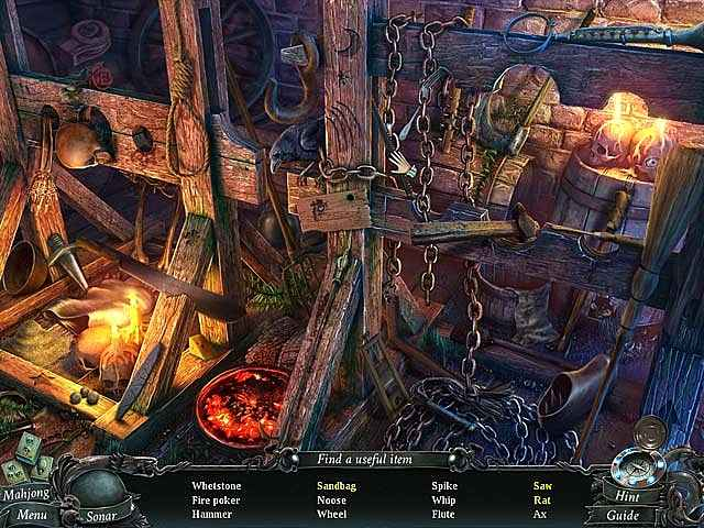 nightmares from the deep: the cursed heart collector's edition screenshots 2