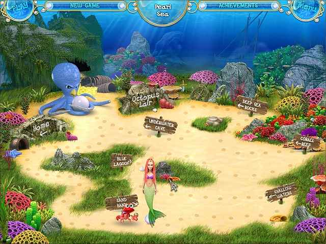 mermaid adventures: the magic pearl screenshots 3