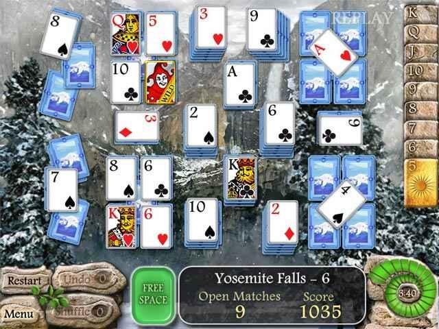 waterscape solitaire: american falls screenshots 1