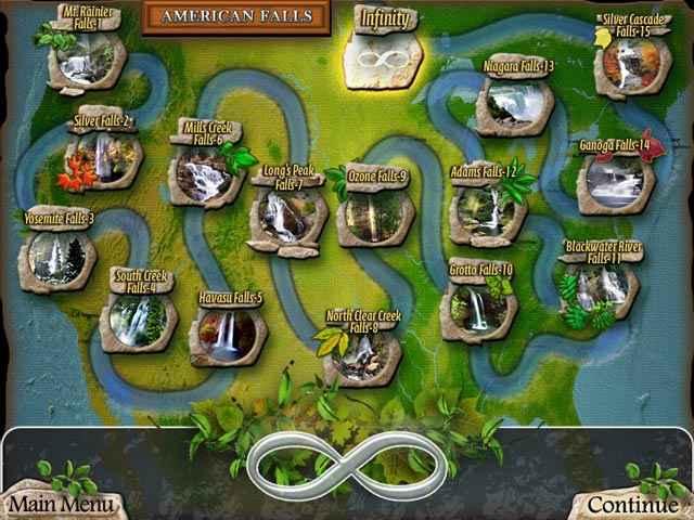 waterscape solitaire: american falls screenshots 2