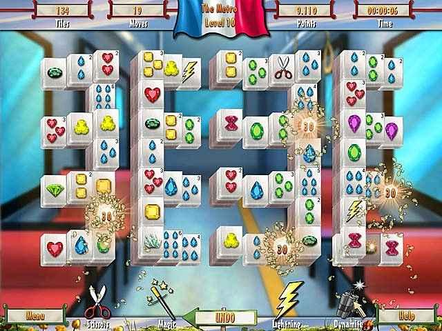 paris mahjong screenshots 2