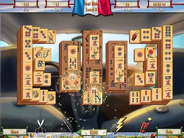 paris mahjong screenshots 3