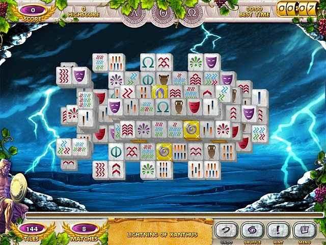 mahjong mysteries: ancient athena screenshots 1