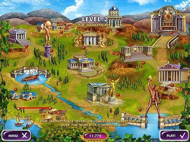 mahjong mysteries: ancient athena screenshots 2