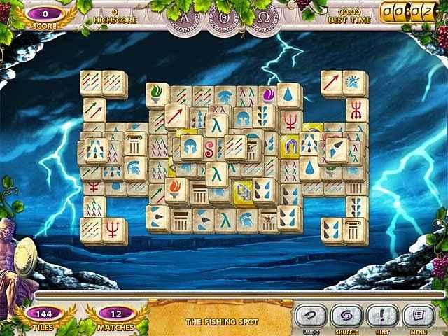 mahjong mysteries: ancient athena screenshots 3