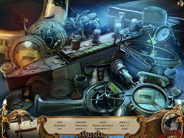 titanic's keys to the past screenshots 1