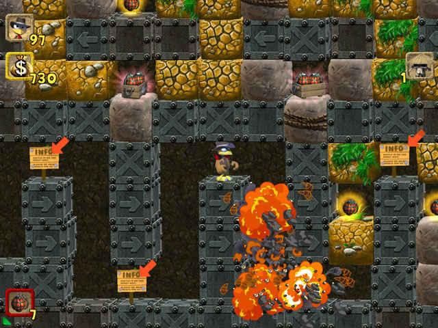moorhuhn: the jewel of darkness screenshots 2