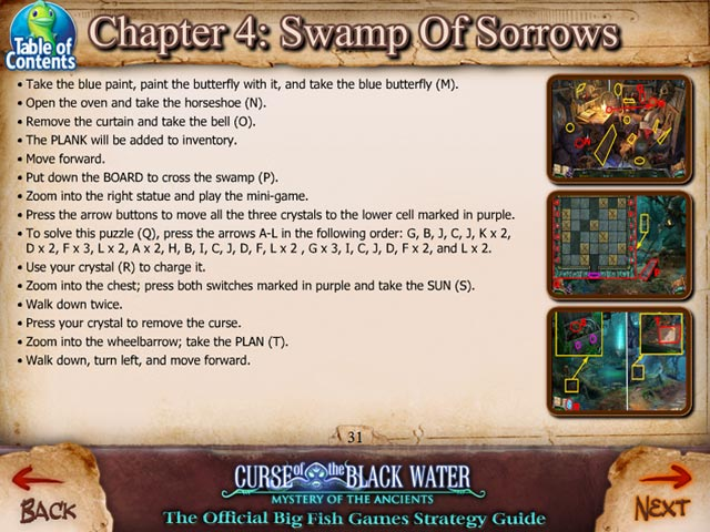mystery of the ancients: the curse of the black water strategy guide screenshots 2