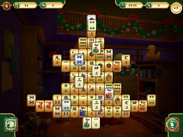 christmas mahjong screenshots 1