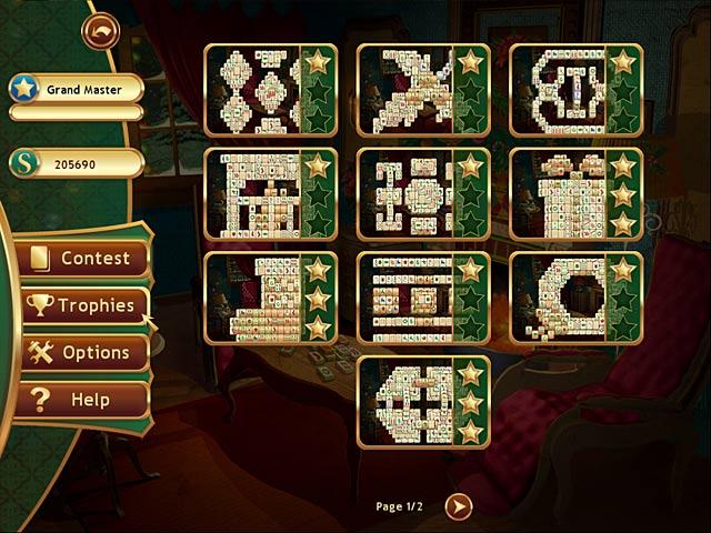 christmas mahjong screenshots 2