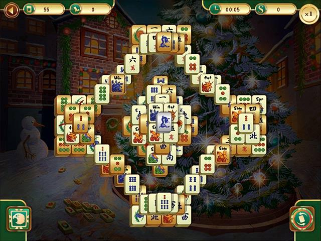christmas mahjong screenshots 3