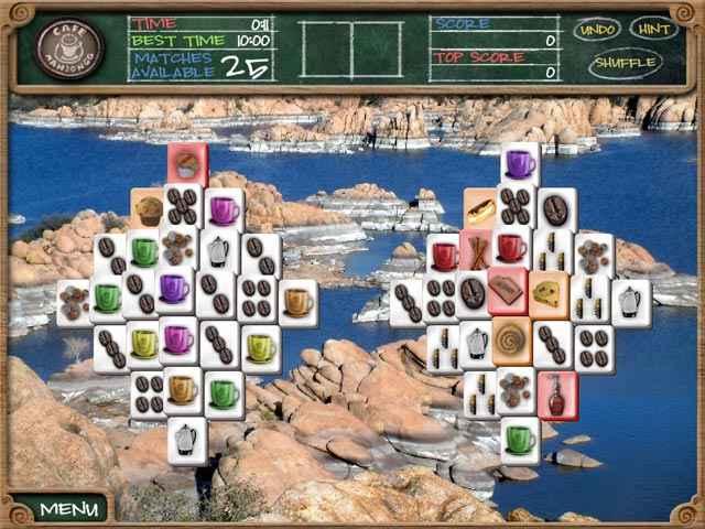 cafe mahjongg screenshots 2