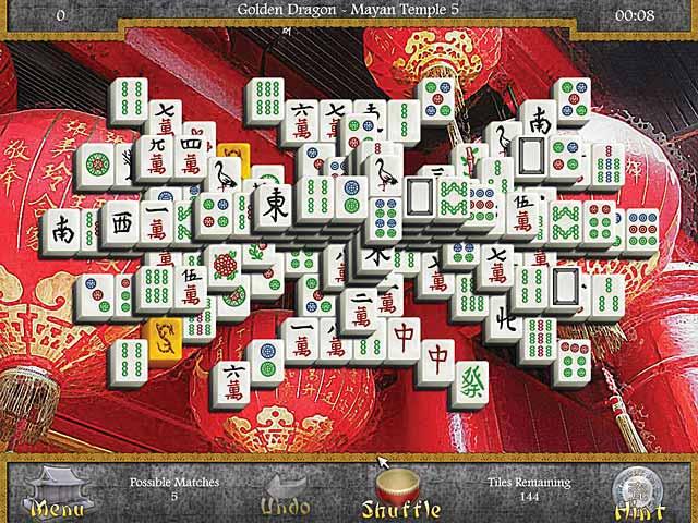 mahjongg: legends of the tiles screenshots 2