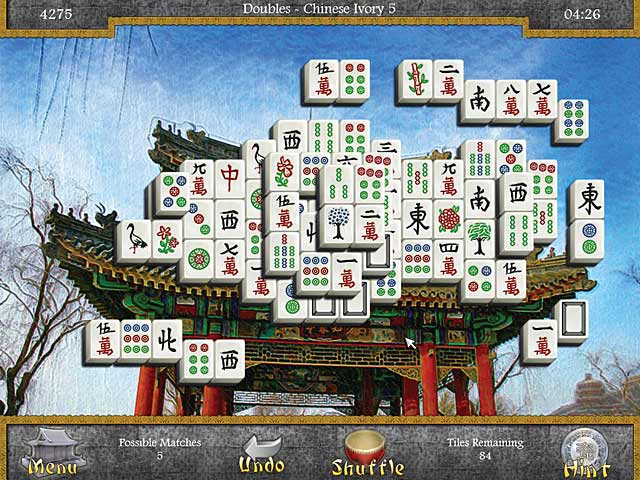 mahjongg: legends of the tiles screenshots 3