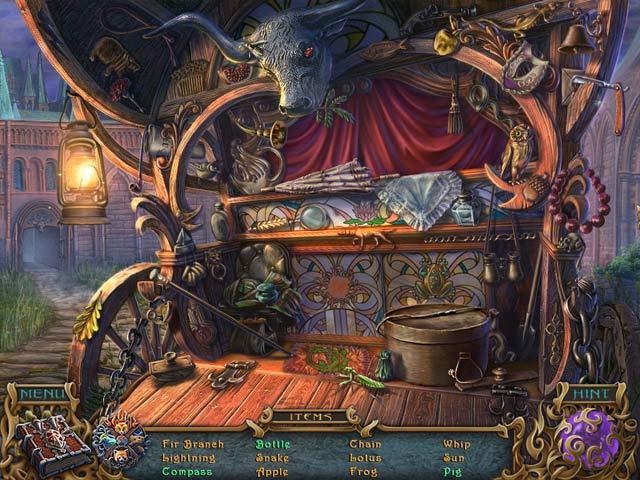 spirits of mystery: the dark minotaur screenshots 1