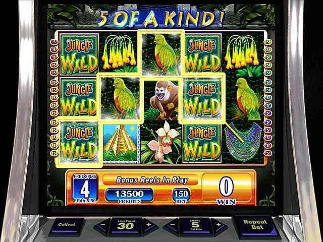 wms jungle wild slot machine screenshots 1