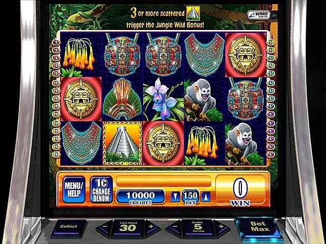 wms jungle wild slot machine screenshots 2