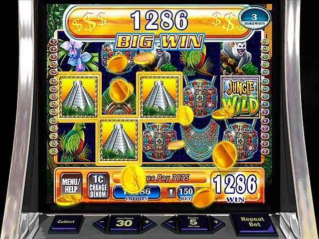 wms jungle wild slot machine screenshots 3