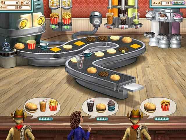 burger shop screenshots 1