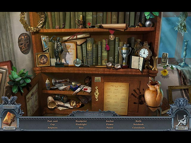 secrets of the dark: mystery of the ancestral estate collector's edition screenshots 1
