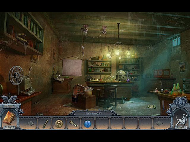 secrets of the dark: mystery of the ancestral estate collector's edition screenshots 2