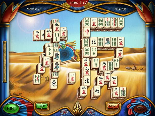 art mahjongg egypt screenshots 1