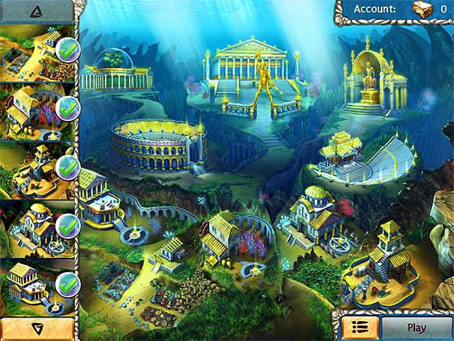 jewel legends: atlantis screenshots 2