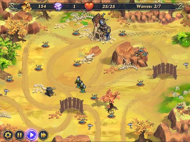 royal defense: invisible threat screenshots 1