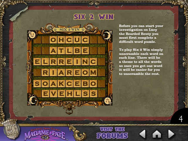 mystery case files: madame fate strategy guide screenshots 2