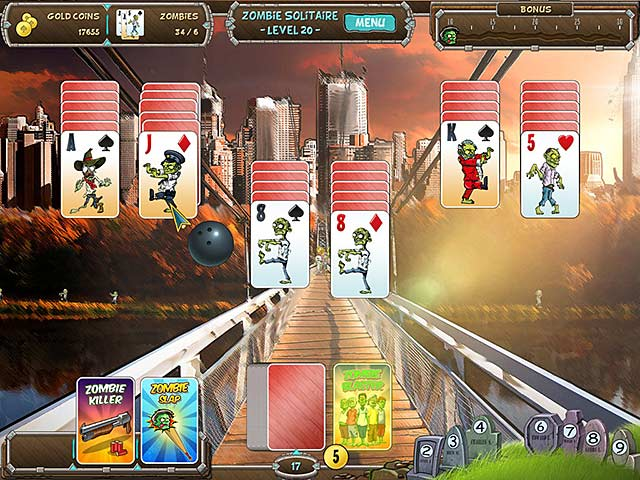 zombie solitaire screenshots 1