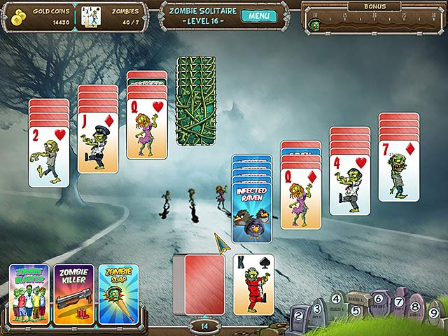 zombie solitaire screenshots 3