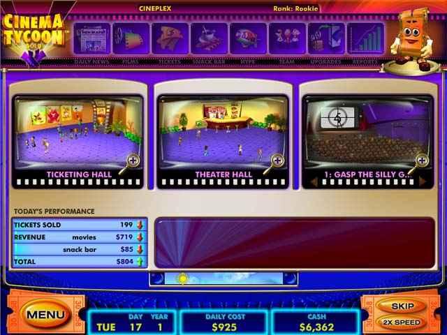 cinema tycoon screenshots 2