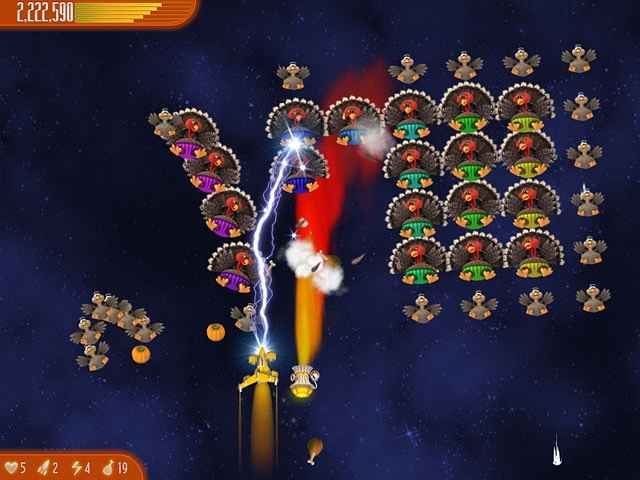 chicken invaders 4: ultimate omelette thanksgiving edition screenshots 1