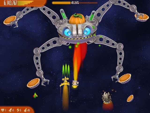 chicken invaders 4: ultimate omelette thanksgiving edition screenshots 2