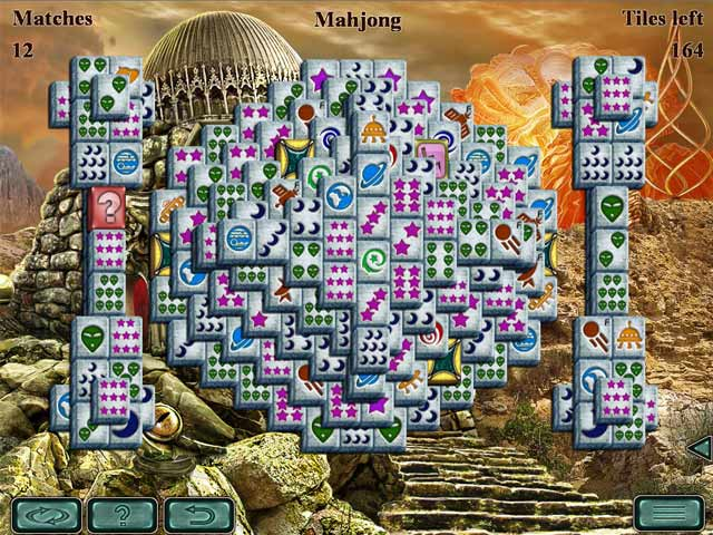 space mahjong screenshots 1
