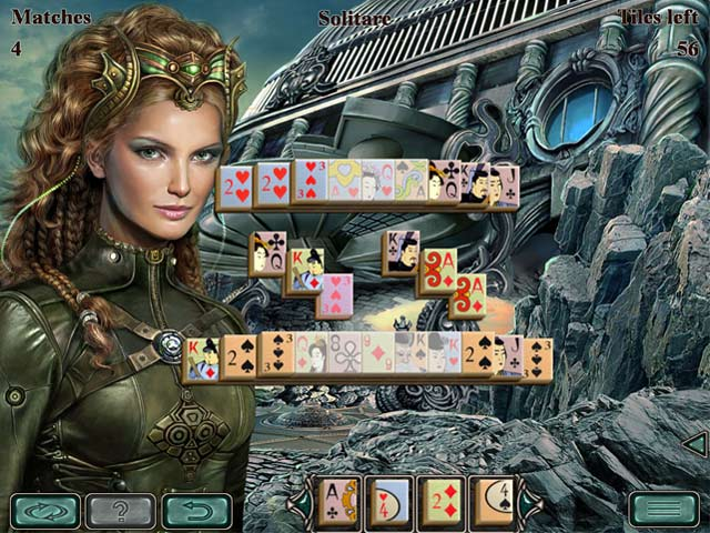 space mahjong screenshots 2