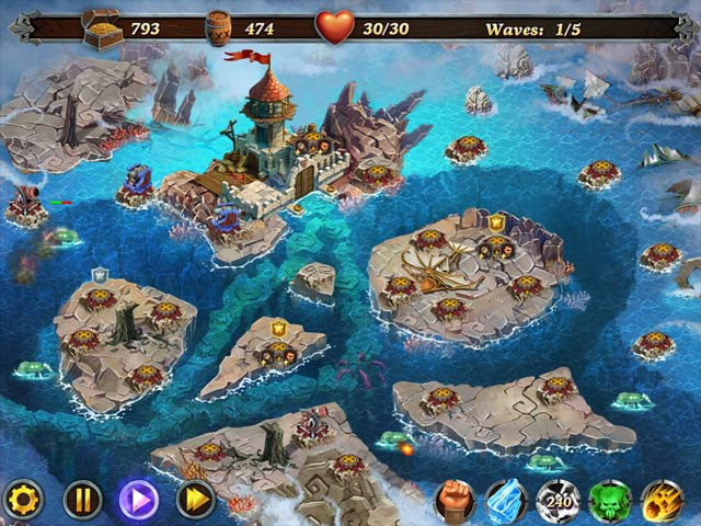 fort defenders: seven seas screenshots 1