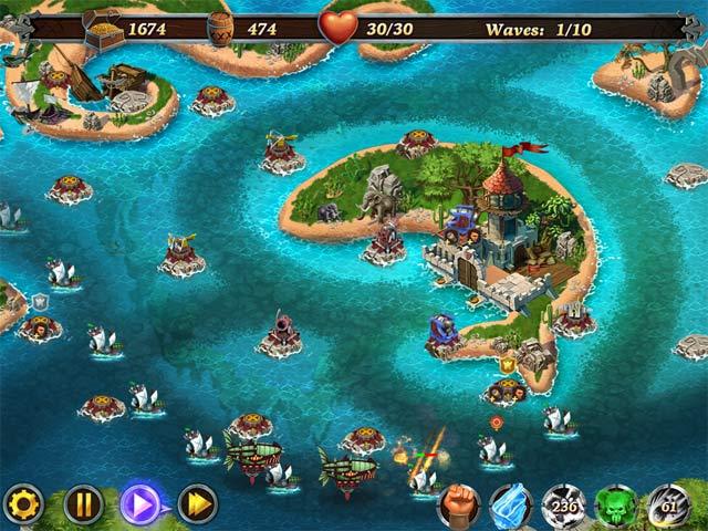 fort defenders: seven seas screenshots 3