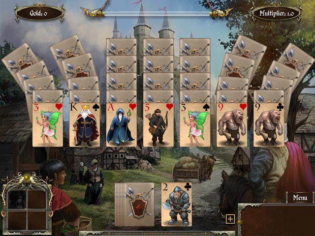legends of solitaire: curse of the dragons screenshots 1