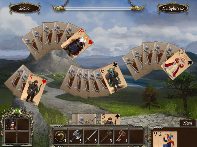 legends of solitaire: curse of the dragons screenshots 2