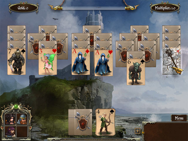 legends of solitaire: curse of the dragons screenshots 3