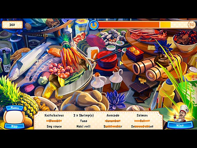 gourmet chef challenge: around the world screenshots 2