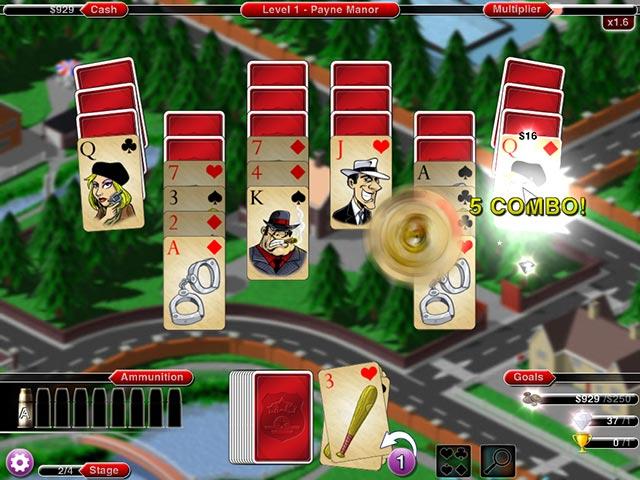 crime solitaire 2: the smoking gun screenshots 1