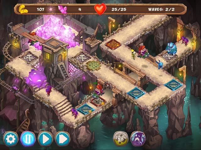 gnumz: masters of defense screenshots 2