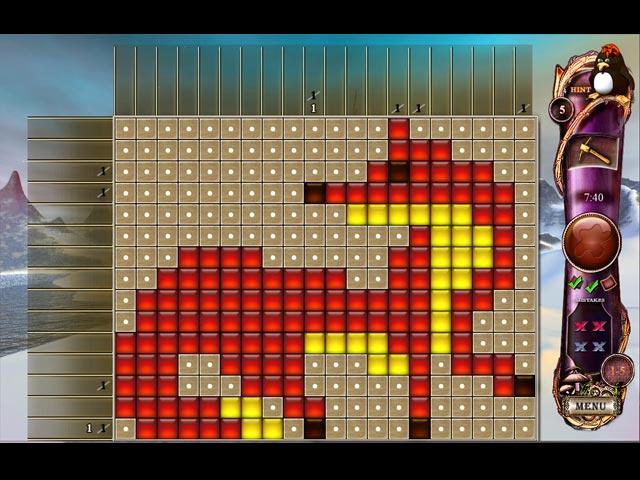 fantasy mosaics 4: art of color screenshots 1